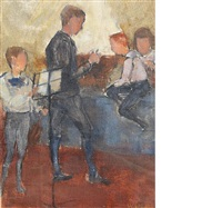 the music lesson by william glackens