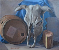 cow and cask by robert mcintosh