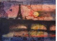 paris in red by robert mcintosh