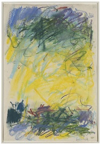 untitled by joan mitchell