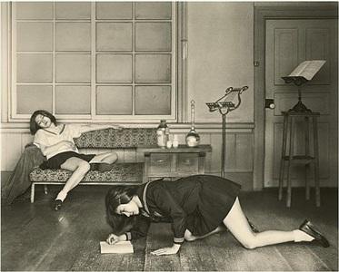 "a study of ""the salon"" by hisaji hara"