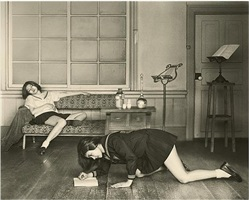 "a study of ""the salon"" by hisaji hara"