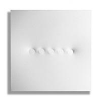 cinque ovali bianchi by turi simeti