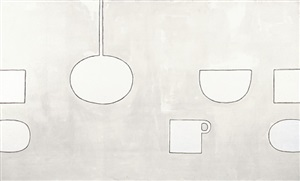 permutations - white with jug by william scott