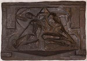 <i>les amants</i>, premier état by raymond duchamp-villon