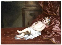 portrait of a child, traditionally identified as lord kensington by sir peter lely