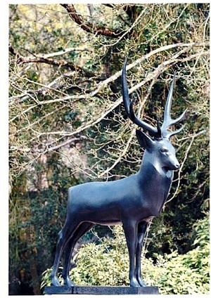 stag (le cerf) by françois pompon