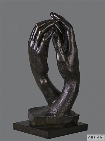 the cathedral by auguste rodin