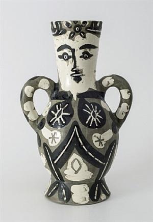 vase deux anses hautes by pablo picasso