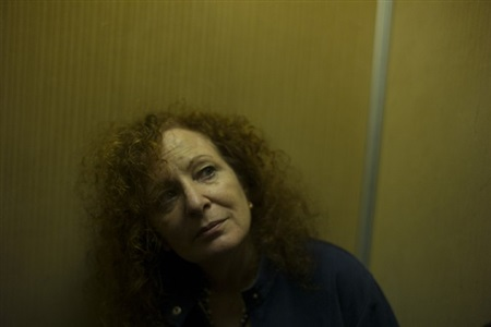 in the elevator at the bauer. venice, italy. by nan goldin