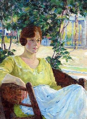 a portrait of eleanor by louise eleanor zaring