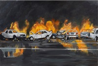 thruway crash by richard bosman