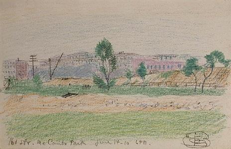 161 st. mccombs park by oscar florianus bluemner