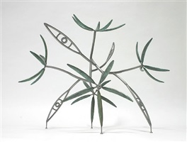 seeing through (maquette) by james surls