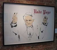 rude pope by bambi