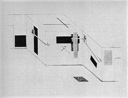 proun by el lissitzky