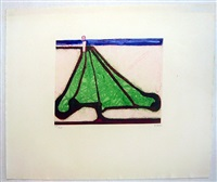 green tree spade by richard diebenkorn