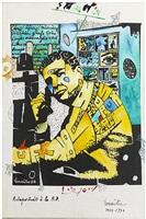 autoportrait à la bd by maurice lemaître