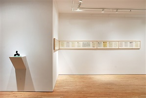 new & recent editions (installation view)