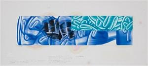 studio still: #59-2, 2011 by david reed