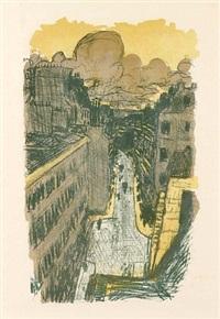 rue vue d'en haut by pierre bonnard
