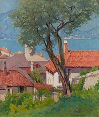 varenna, lake como by charles warren eaton