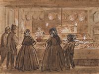a la pâtisserie by eugène boudin