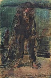 le pêcheur by georges rouault