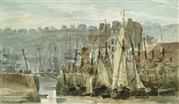 port de pêche (boulogne) by richard parkes bonington