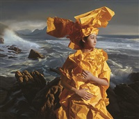 orange paper bride -- listening to the sea by zeng chuanxing
