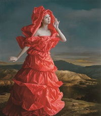 red paper bride -- in a place far away by zeng chuanxing