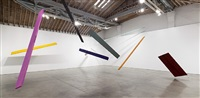 untitled (installation view) by joel shapiro