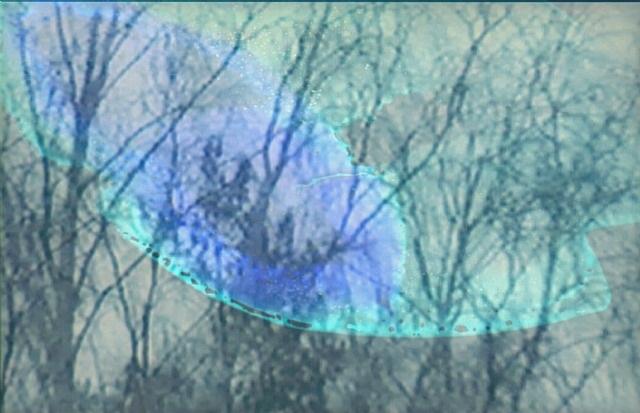 film still from <i>snow</i> by kon trubkovich