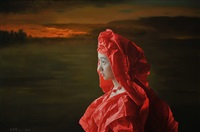 red paper bride -- setting sun by zeng chuanxing
