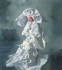 white paper bride -- foggy city by zeng chuanxing