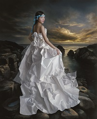 white paper bride -- strolling along cythera by zeng chuanxing