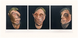 after three studies for a self-portrait by francis bacon
