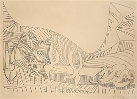 bacchanale i by pablo picasso