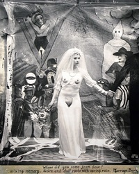 marriage, bogota (jrfa 10669) by joel-peter witkin