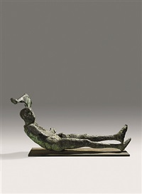 dying king by elisabeth frink