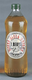 oil bottle by joseph beuys