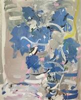 blue hydrangea by jon imber