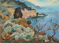l'île du levant an der côte d'azur by willy eisenschitz