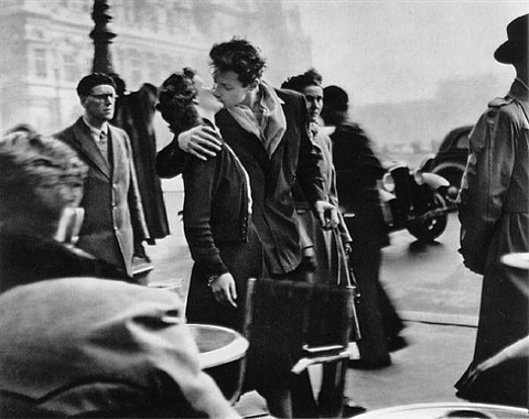 the kiss by robert doisneau