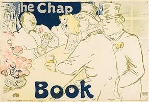 irish and american bar, rue royale- the chap book by henri de toulouse-lautrec