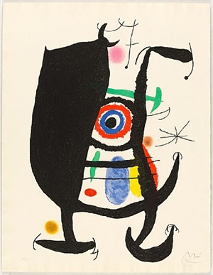 l'inhibé (the inhibited one) by joan miró
