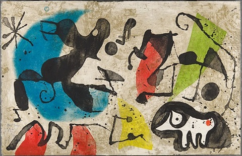els gossos v (the dogs v) by joan miró