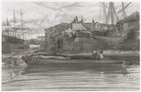 limehouse by james abbott mcneill whistler
