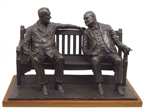 maquette for allies by lawrence holofcener