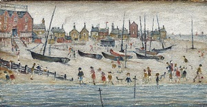 deal sands by laurence stephen lowry